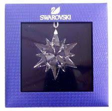 Swarovski Crystal Christmas Decorations Uk by Swarovski Ornaments Ebay