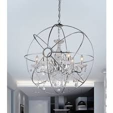 Two Golden Rings Bead Chandelier Chandeliers For Less Overstock Com