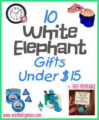 Christmas Gifts Under 10 White Elephant Gift Ideas