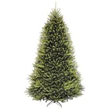national tree company 9 ft dunhill fir hinged artificial