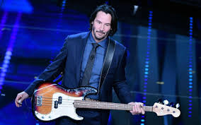 chitarra vasco sanremo 2017 keanu reeves inaspettato rocker fan di vasco