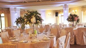 wedding reception dinner decorations stock footage 20057104