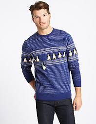 mens christmas jumpers novelty jumpers for men m u0026s