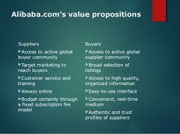alibaba target market case study analysis of alibaba com