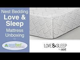 love mattress nest bedding love sleep mattress reviews goodbed com