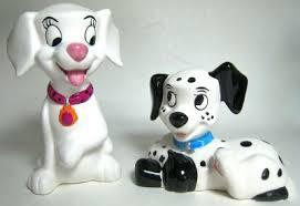 dalmatian puppies salt pepper shaker u0027102 dalmatians