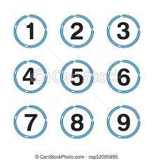 Famosos Números, jogo, número, botão, 0-9. @UB26