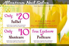 allentown nail salon manicure pedicure waxing foot massage