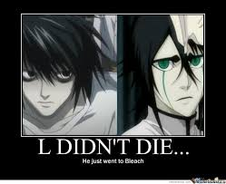 I Love L Meme - anime memes death note google search random fun pinterest