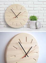 Design Clock by 14 Modern Wood Wall Clocks To Spruce Up Any Decor Contemporist
