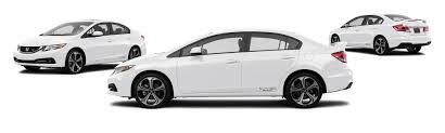 2014 honda civic si 4dr sedan w summer tires research groovecar