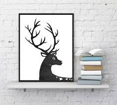 deer home decor free printable wall art u2013 deer u2014 crafthubs