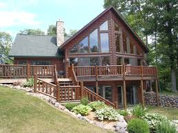Lake Front Home Plans Lakefront Home Plans Hahnow