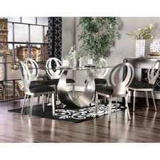 glass dining room sets glass dining room kitchen tables shop the best deals for dec