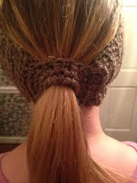 headband ponytail basic ponytail headband earwarmer allfreecrochet