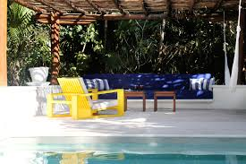Hotel Pool Furniture Suppliers by Hotel Esencia Xpu Ha Mexico