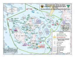 san juan map reading the washington landscape san juan islands national