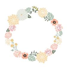 flower wreath forever kids set of 8 assorted cards floral wreath
