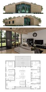 386 best floorplans images on pinterest apartment floor plans small house plan so i would swap the left side so the kitchen is off the back deck love the way the master closet is on the way to bath