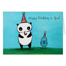 panda birthday cards photocards invitations u0026 more