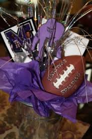 football centerpiece banquet ideas pinterest football