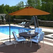 Fringed Patio Umbrella by Patio Ideas Oversized Deck Umbrellas Oversized Offset Patio