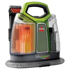 green upholstery cleaner bissell green proheat portable upholstery and carpet