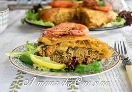 cuisine du poisson pastilla au poisson et fruits de mer amour de cuisine