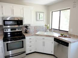 painting oak kitchen cabinets before and after alluring painting kitchen cabinets white painting oak kitchen
