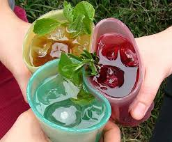 edible glasses jell o edible glasses aim to reduce plastic and paper waste