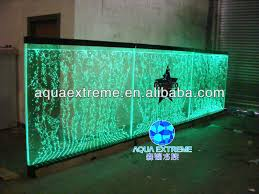 led light wall panels dancing water bubble wall panel with led light for hotel home