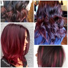 brown cherry hair color black cherry hair colors for 2017 best hair color ideas trends