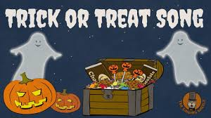 trick or treat song halloween songs for kids the singing