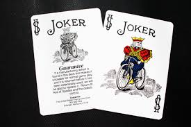 Joker Playing Card Designs Free Images Deck Bicycle Advertising Brand Font