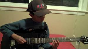 How To Play Comfortably Numb Solo On Guitar 8 Year Old Guitarist Playing Comfortably Numb Solo 2 Pink Floyd