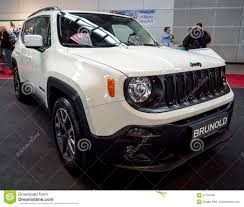 suv jeep 2017 subcompact crossover suv jeep renegade bu 2017 editorial stock