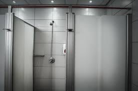 perspex shower doors u0026 true divided light door with inline panel
