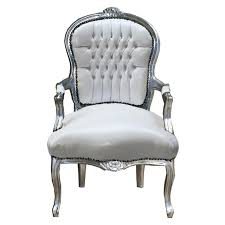 Armchair Shop Faux Leather Salon Chairs Wood White Armchair Luxury Pure Shop