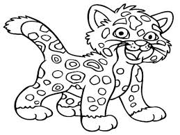 baby jaguar diego coloring pages virtren com