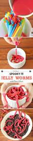 jello worm food ideas halloween treats halloween food jelly worm