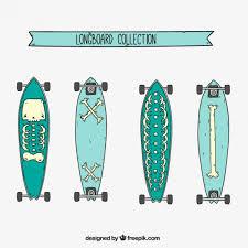 skateboard vectors free vector graphics everypixel