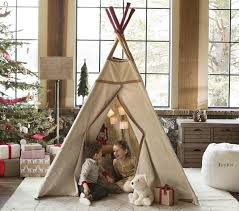 Pottery Barn For Children Red Stitch Teepee Pottery Barn Kids