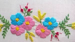 design embroidery hand embroidery designs tiny design for cushion covers youtube