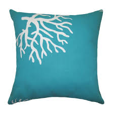 Beautiful Color Accent Beautiful Diamond Turquoise Cotton Fabric Turquoise Accent Pillows