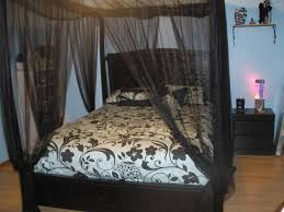 Poster Frame Ideas by Black Canopy Bed Curtains Chic Design 4 Curtains A And Poster Beds