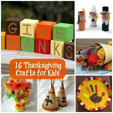 16 easy thanksgiving crafts