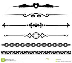 decorative elements stock vector image 60674948