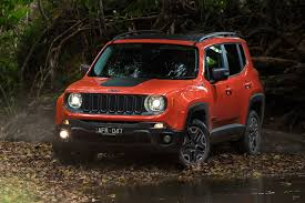 red jeep renegade 2016 jeep renegade trailhawk quick review