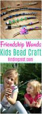 friendship wands kids bead craft finding zest