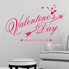 valentine days cool home wall decals for valentine decors heart large size of pink vinyl valentine wall decal sweet color wall art removable sticker valentine day